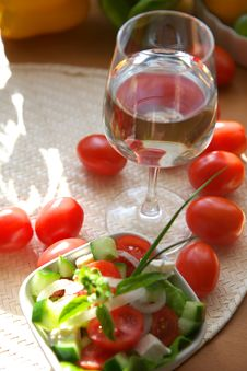 Free Vegetarian Appetizer Royalty Free Stock Photography - 2893527