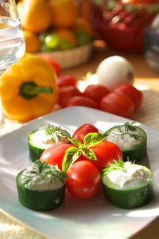 Free Vegetarian Appetizer Stock Image - 2893531