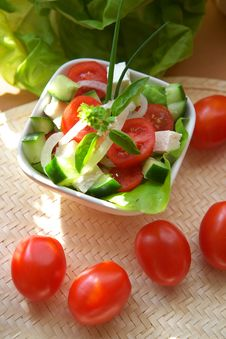 Free Vegetarian Appetizer Royalty Free Stock Photo - 2893685