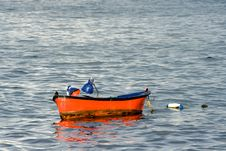 Free Red Fishing Boat Royalty Free Stock Photo - 2893905