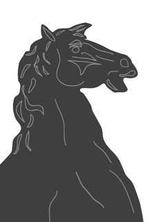 Free Horse Bust Royalty Free Stock Photos - 2894308