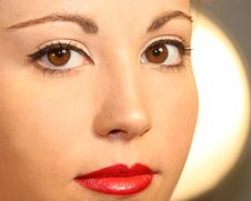 Free Beautiful Female Face Stock Photos - 2894563
