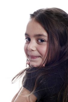 Free Young Girl Smiling Stock Photos - 2895043