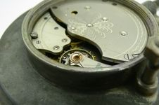 Macro Of Clock Gears. Stock Photography