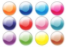 Free Colorful Buttons Royalty Free Stock Photography - 2895667