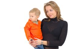 Free Mother With Son Stock Image - 2896301