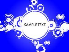 Free Blue Splatter Copyspace Stock Image - 2896421