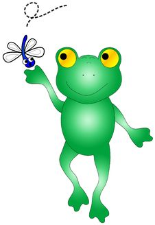Free Frog Catching Bug. Stock Photos - 2897223