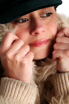 Free Chilly Woman Stock Photography - 2897492