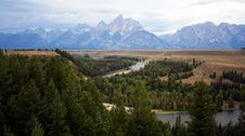 Free Grand Teton And Snake River Royalty Free Stock Images - 2897919