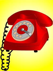 Free Dial Telephone Stock Images - 2898284