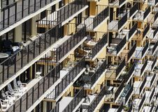 Free Abstract Balconies Stock Image - 2898921