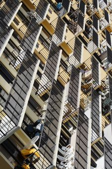 Free Abstract Balconies Royalty Free Stock Photo - 2898925