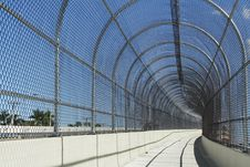 Free Fenced Walkway On Blue Sky Stock Photos - 2899073