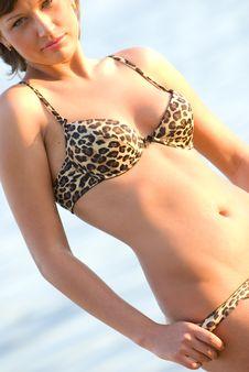 Beach Girl1 Royalty Free Stock Photo