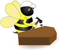 Free Carpenter Bee. Royalty Free Stock Photo - 2899775