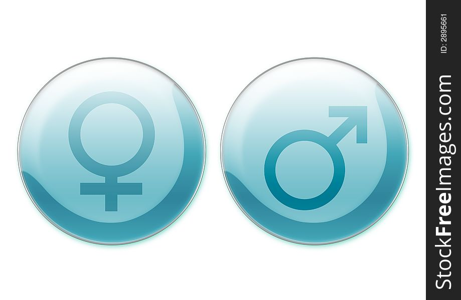 Female And Male Symbols Free Stock Images Photos 2895661