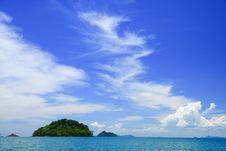 Tropical Beach, Andaman Sea,Thailand Stock Photography