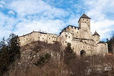 Free Castle Of Campo Tures Royalty Free Stock Photos - 28901978