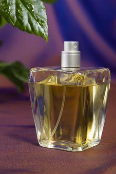 Free Bottle Of Perfume Royalty Free Stock Photos - 28905218