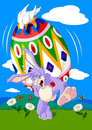 Free Easter Bunny Royalty Free Stock Photo - 28912795