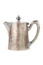 Free Retro Teapot Or Coffee Pot, Jug Isolated On White Stock Photos - 28914213