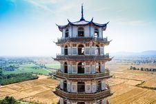 Chinese-style Pagoda Stock Photo