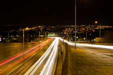 Free Traffic Light Trails Stock Photos - 28916243