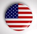 Free USA Flag Icon Stock Photography - 28922342