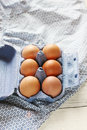 Free Box With Eggs Royalty Free Stock Photos - 28928898