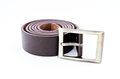 Free Brown Belt On Isolates Background Stock Images - 28929734