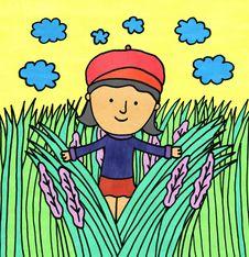 Free Grassy Field Stock Image - 28925841