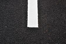 Free Asphalt Pavement Texture With A White Line Stock Image - 28928831
