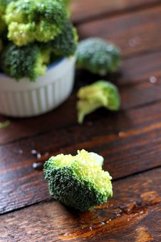 Free Broccoly Royalty Free Stock Photo - 28928875