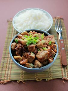 Free Asian Chicken Dish Royalty Free Stock Image - 28928896