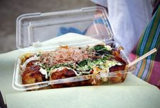 Free Takoyaki - Japanese Food Stock Images - 28929114