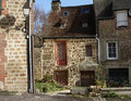 Free Stone Cottage In France Royalty Free Stock Photo - 28937545