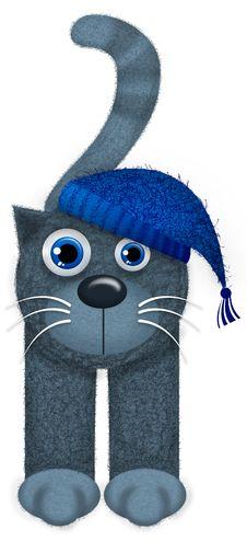 Free Cat Cartoon Stock Image - 28931201