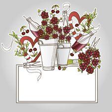 Free Сherry Bouquet Royalty Free Stock Image - 28937776