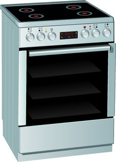 Free Electric Stove Royalty Free Stock Photography - 28939977