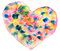 Free Colorful Heart In Watercolor Royalty Free Stock Image - 28938416