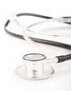 Free Medical Stethoscope On White Background Stock Images - 28947364