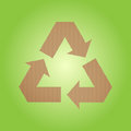Free Cardboard Recycle Sign Royalty Free Stock Image - 28948856