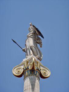 Free Statue Of Athina Royalty Free Stock Image - 28941326