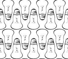 Free Light Bulbs Seamless Stock Photos - 28942953