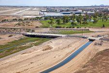 Freeway Bridge Royalty Free Stock Photos