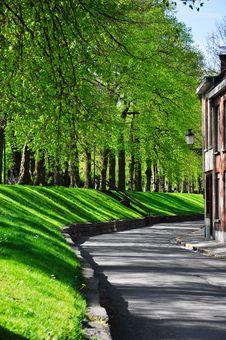 Free Road In Brugge, Belgium Royalty Free Stock Photo - 28946735