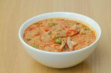 Free Thai Food Name Pa Nang Stock Photos - 28947503