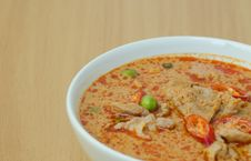Free Thai Food Name Pa Nang Stock Image - 28947531