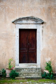 Free Church Door Royalty Free Stock Photo - 28947575